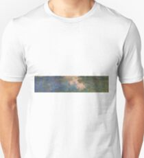 Claude Monet - The Water-Lily Pond 1914 Unisex T-Shirt