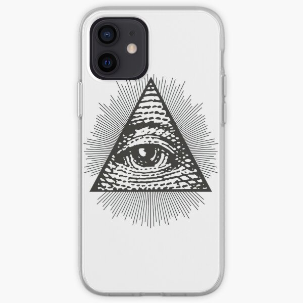 All Seeing Eye of Providence  iPhone Soft Case