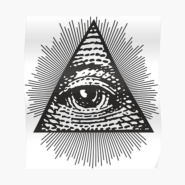 All Seeing Eye of Providence  Poster