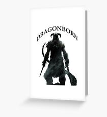 Skyrim - Dragonborn Greeting Card