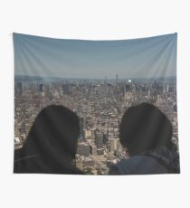 Empire State Building NYC New York City from the World Trade Center Travel love wander Wall Tapestry