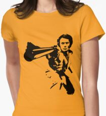 DIRTY HARRY T-SHIRT ON LITE Womens Fitted T-Shirt