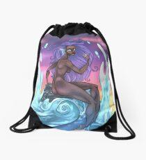 siren Drawstring Bag
