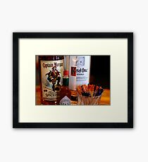Have a Drink: Captain Morgan Kettle One Framed Print
