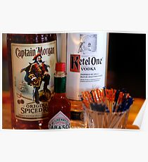 Have a Drink: Captain Morgan Kettle One Poster