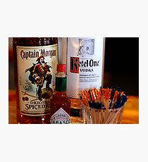 Have a Drink: Captain Morgan Kettle One Photographic Print