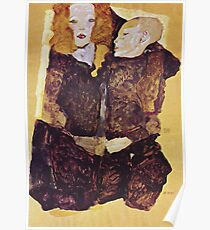Egon Schiele - The Brother 1911 Poster