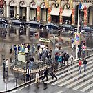 Rainy day in Paris, France by Shutterbug