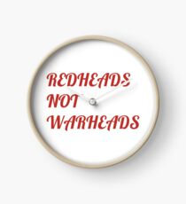 Flight of the Conchords Redheads Not Warheads Clock
