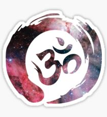 Infinite Om Sticker