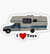 I love Toyota Motorhomes  Sticker