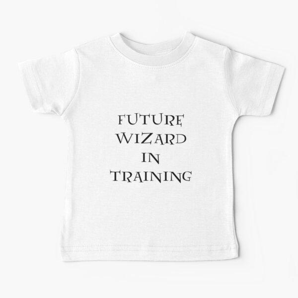 Asistente futuro en entrenamiento Camiseta para bebés