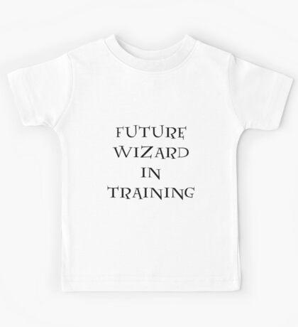 Future Wizard in Training Kids Tee