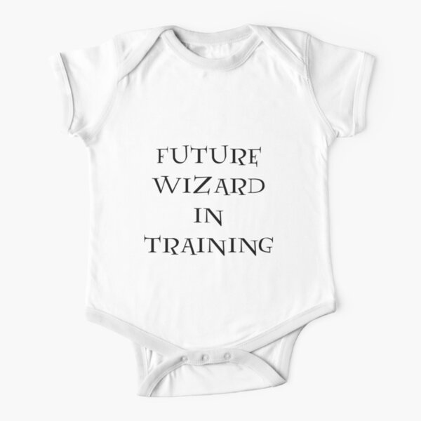 Future Wizard in Training Short Sleeve Baby One-Piece