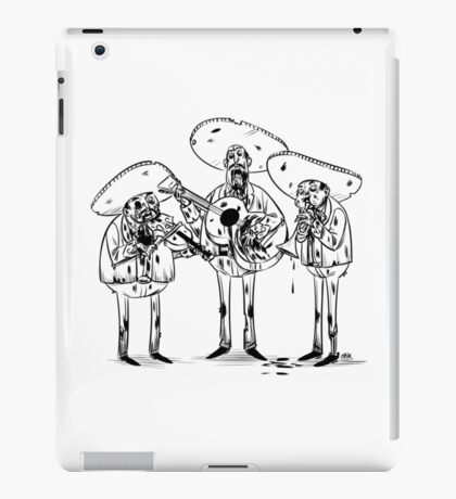 Mariachi Band  iPad Case/Skin