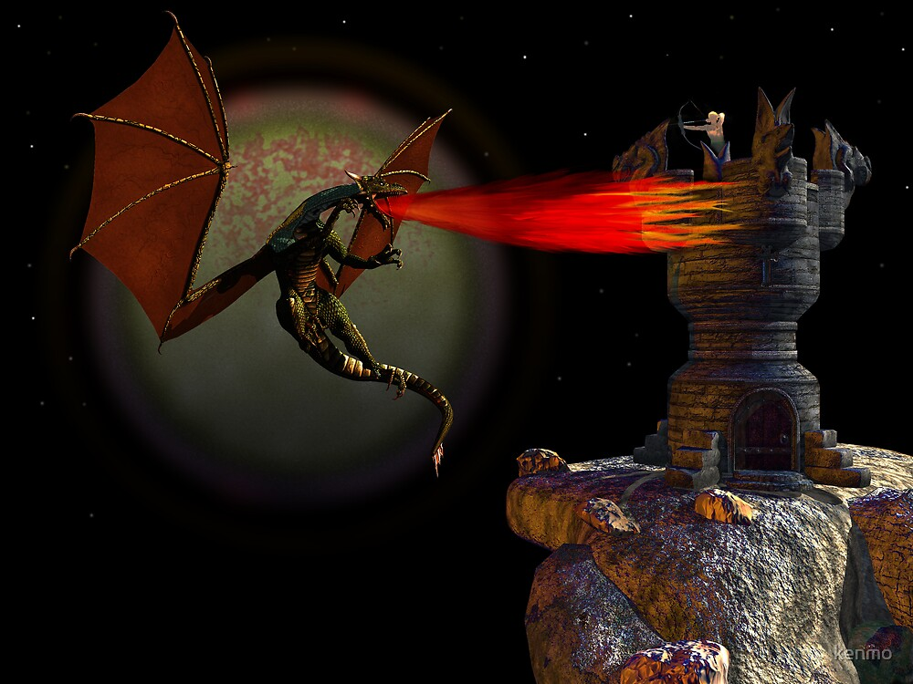 Attack of the Dragon by kenmo
