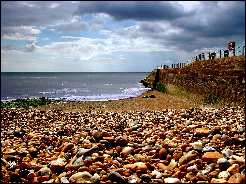 Hastings Beach 2005 by Andy Coleman