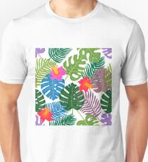 Tropical paradise pattern. T-Shirt