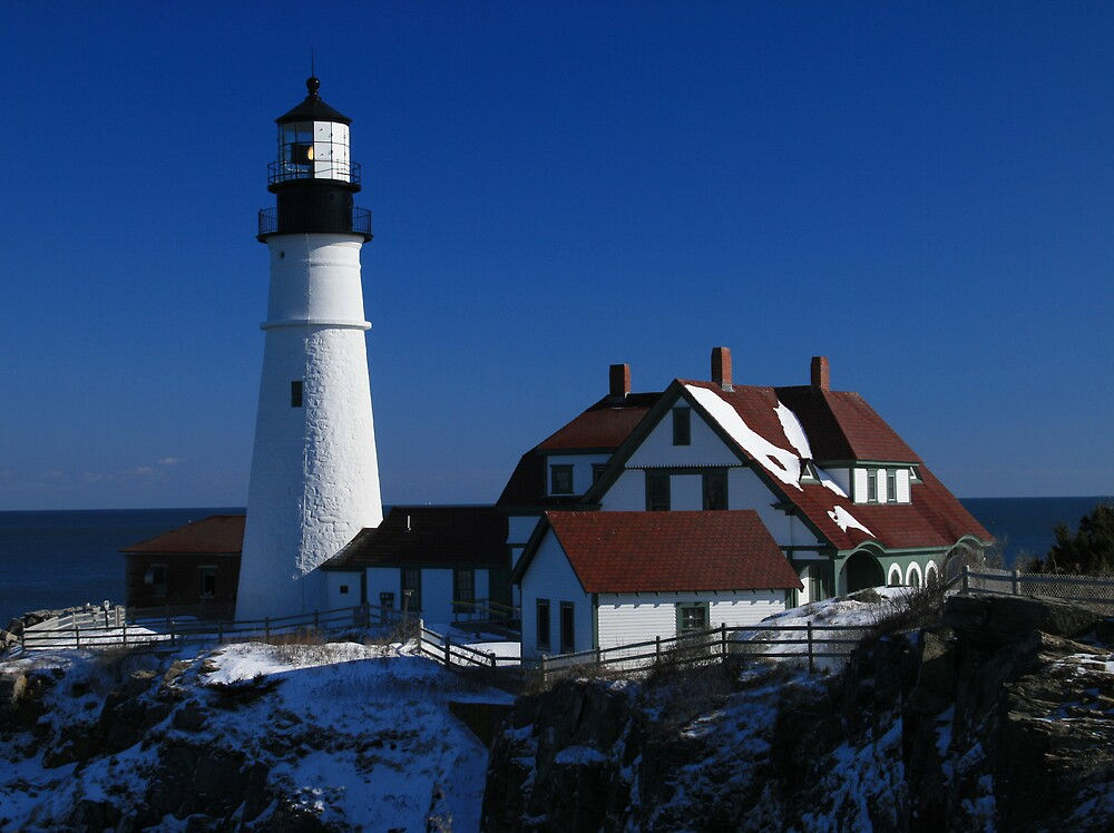 Portland Head Light by karenp6172
