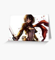 Mikasa Greeting Card