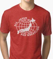 Camiseta de tejido mixto Todo Japón Pro-Lucha