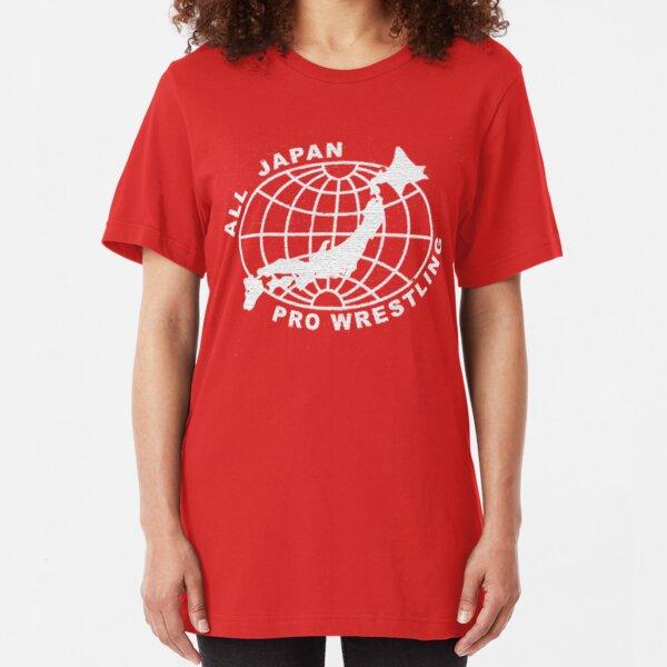 All Japan Pro-Wrestling Slim Fit T-Shirt
