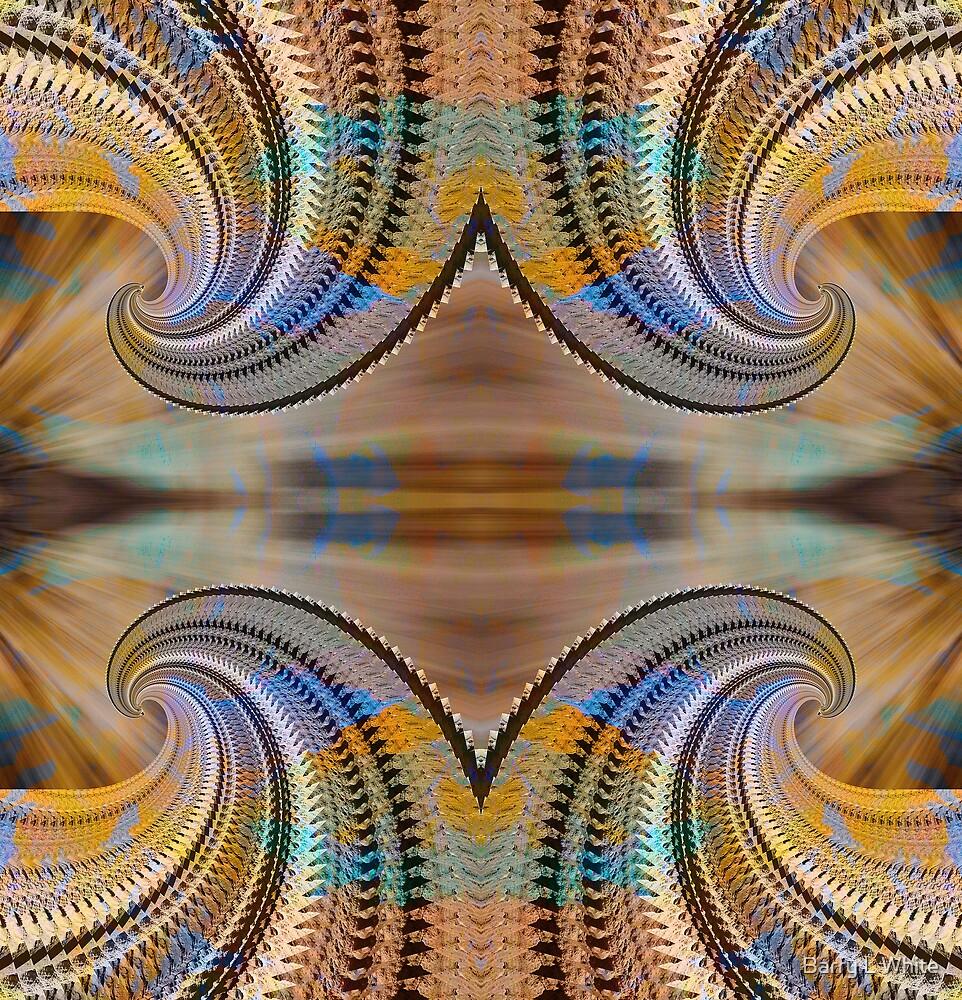Rainbow Spirals by Barry L White