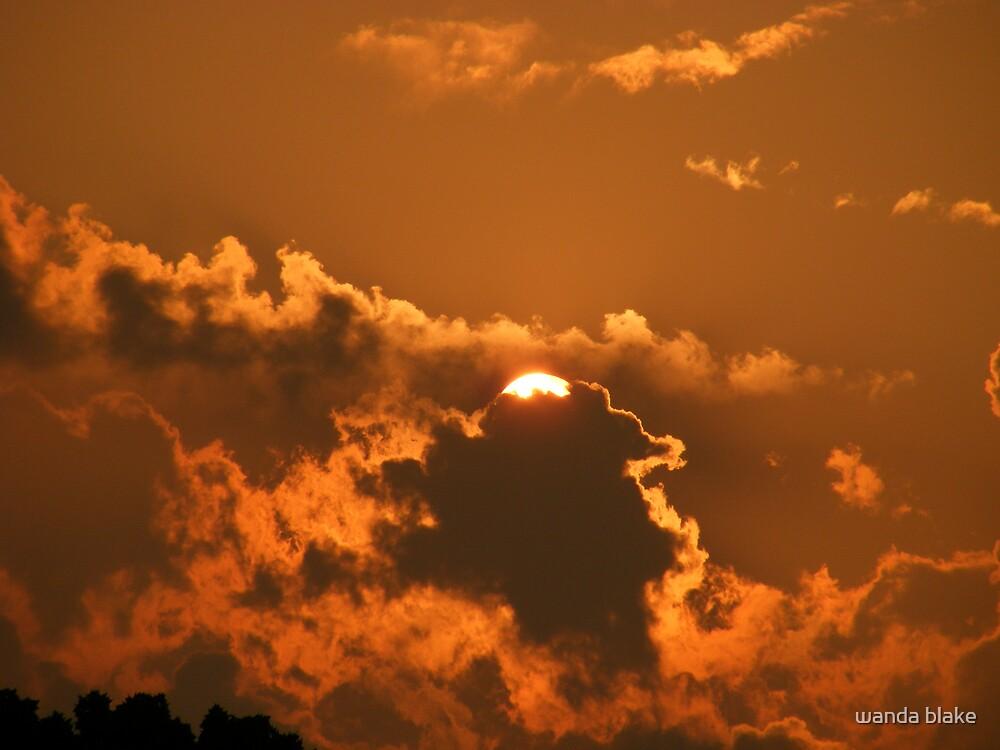 sunset by wanda blake