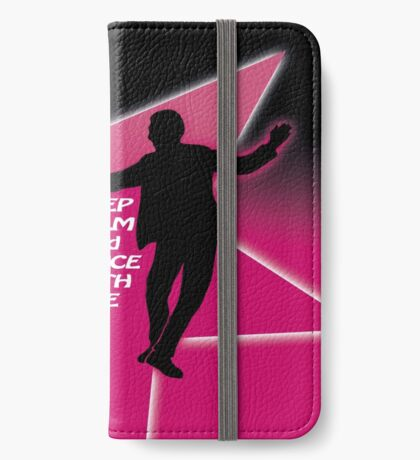 keep calm and dance - west coast swing iPhone Wallet