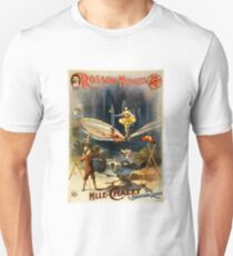 Antique Vaudeville Poster - Mademoiselle Chalet, the Bounding Queen (1897) Unisex T-Shirt
