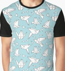 Japanese Origami Paper Art  Graphic T-Shirt