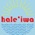 Hale'iwa Wavy Sun by northshoresign