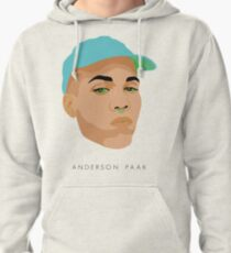 Anderson .Paak illustration Pullover Hoodie