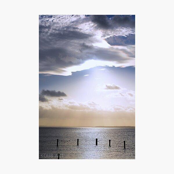 Swimming Enclosure at Dunwich Photographic Print