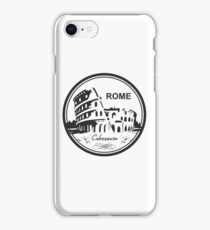 Italy Rome Colosseum Travel Destination iPhone Case/Skin