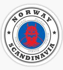 Norway Scandinavia Europe Travel Destination Sticker
