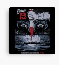 friday 13th Canvas Print