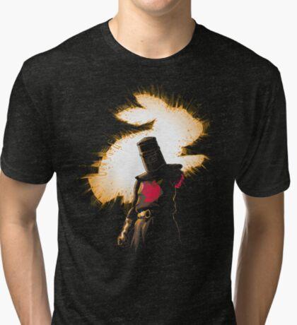 The Black Knight Rises Tri-blend T-Shirt