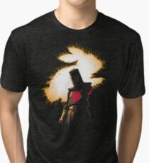 The Black Knight Rises Tri-blend T-Shirt
