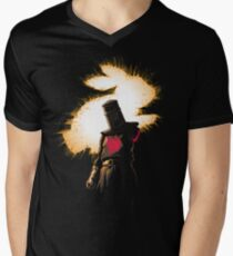 The Black Knight Rises Men's V-Neck T-Shirt