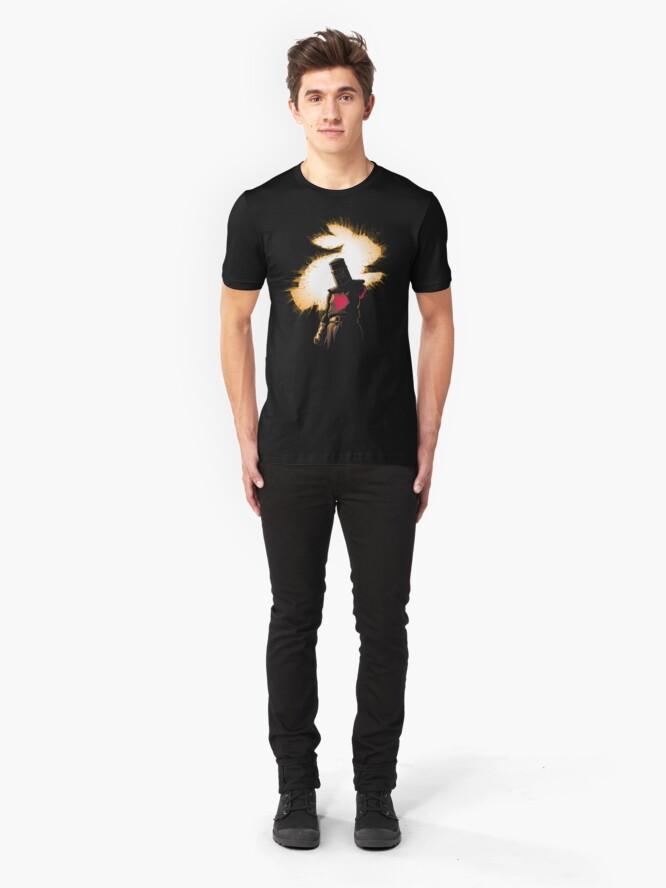 Alternate view of The Black Knight Rises Slim Fit T-Shirt