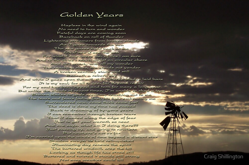 Golden Years by Craig Shillington