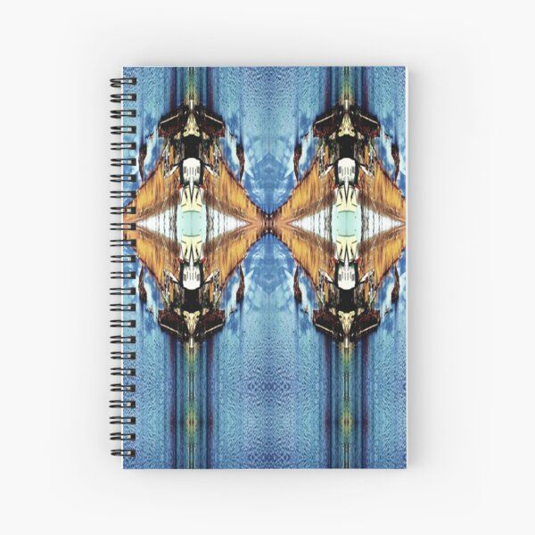 The Diamond Sea Spiral Notebook