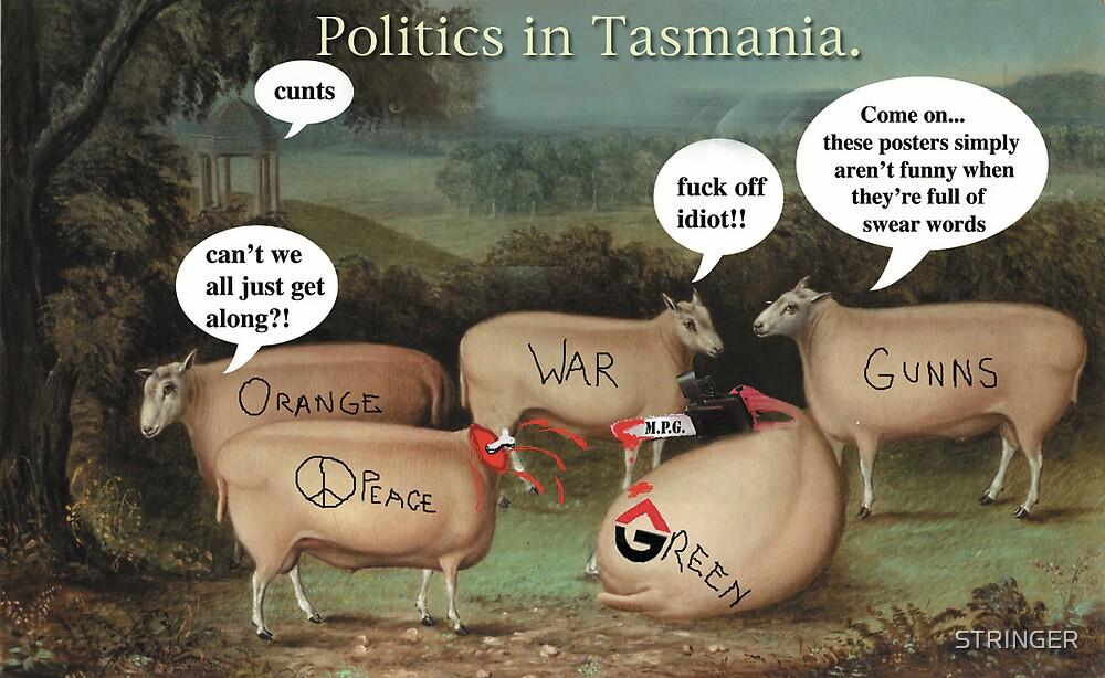 Politics in Tasmania. by STRINGER