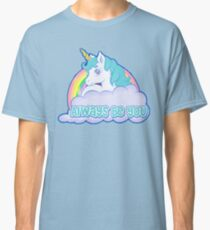 Central Intelligence Unicorn (Faded As Worn In The Film) Bob Stone - Always Be You Classic T-Shirt