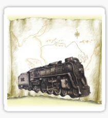 Train Engine Sticker