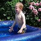Caught mid splash by gingerbird