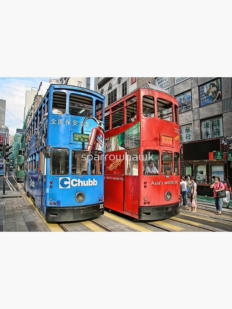 Hong Kong - Trams by sparrowhawk