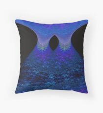 Cascade (Night version) Throw Pillow