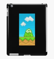 Glitch Homes Wallpaper eightbit wall iPad Case/Skin